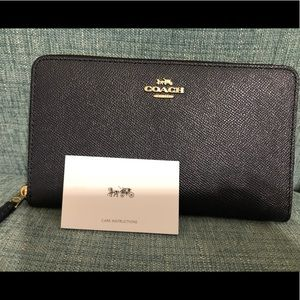 Coach Continental Wallet large